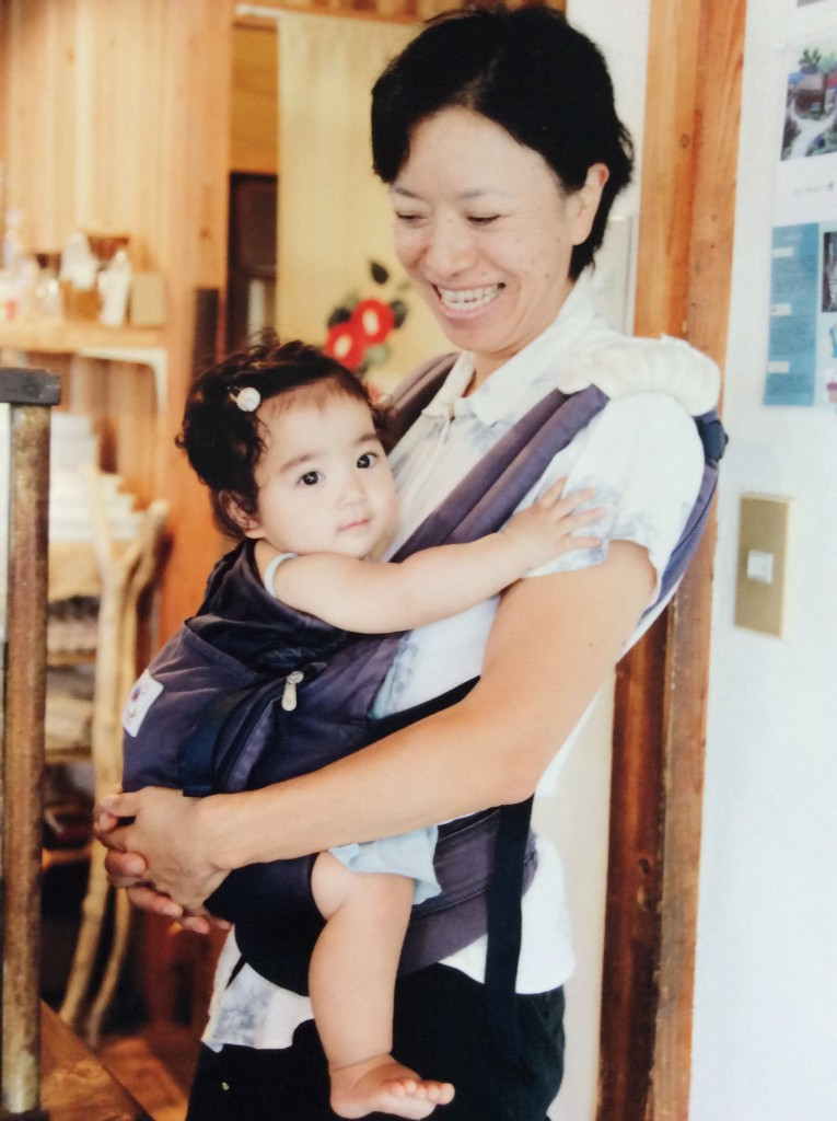 "Noriko Uchimuro / Owner of a natural food store ""Tsubaki Shoten""(Camellia Grocery)"