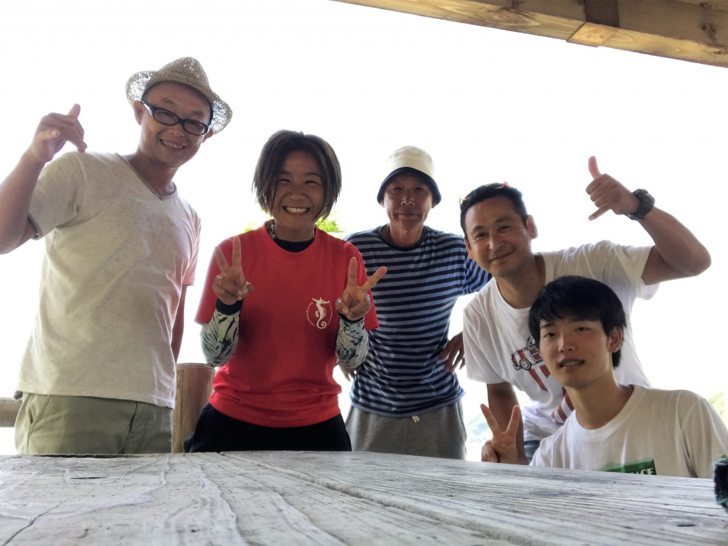 Takako Ryo / Owner of the Yakushima Diving School Tatsunoko