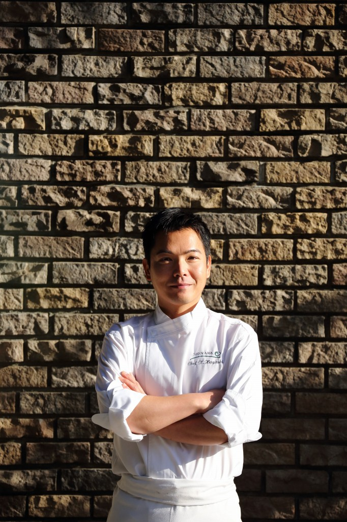 林謙児さん/「sankara hotel&spa屋久島」シェフ/Kenji Hayashi / Chef at Sankara Hotel & Spa Yakushima