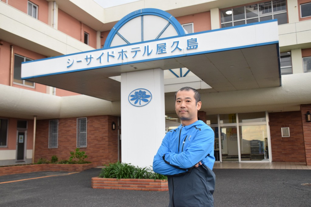 Shinichiro Oshirabe/Executive Chairman of the Yakushima Ultramarathon
