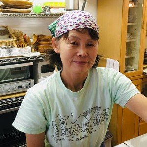 日高靖子さん/カフェスマイリー オーナー