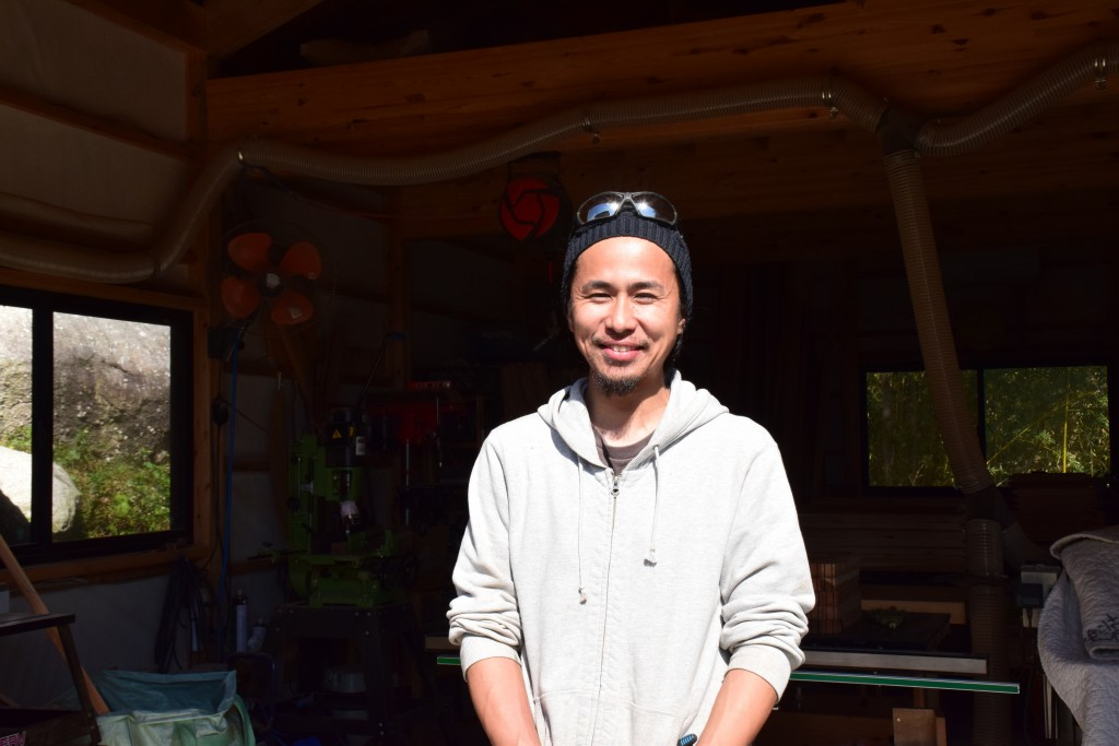 西 優樹さん / グランピング施設「SOLMU MATKA」
