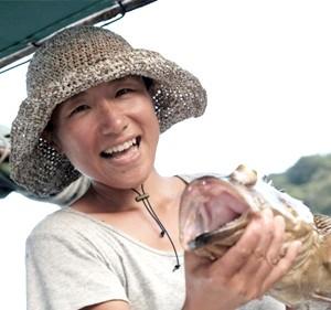 伊藤佳代さん/女性漁師