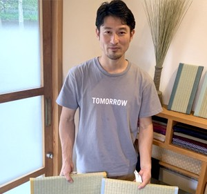 中島拓也さん/たたみ職人/Nakashima Takuya/Tatami Maker Nakashima Tatami Gallery