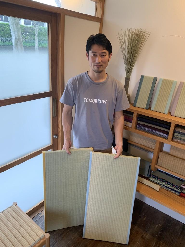 中島拓也さん/たたみ職人/Nakashima Tatami Gallery