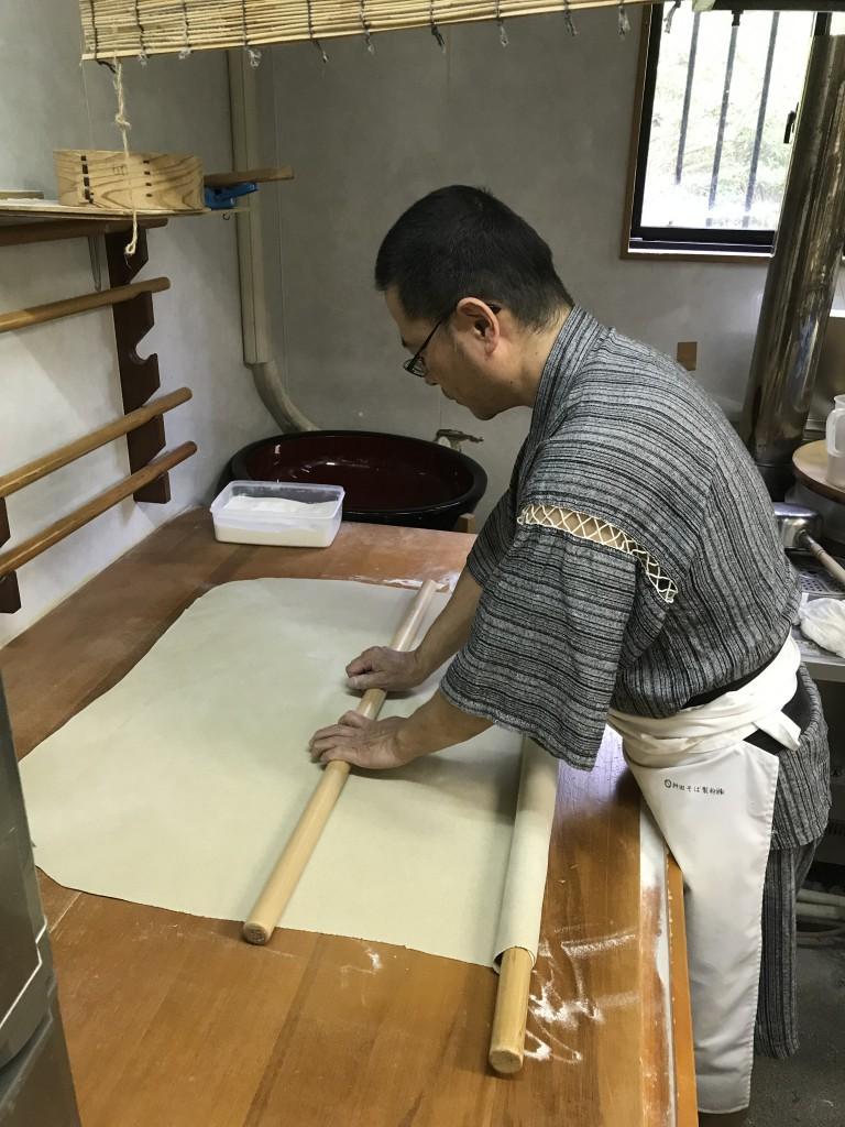 吉良和斗さん/手打ちそば「きらんくや」/Kira Kazuto/Owner Kirankuya Hand-Made Buckwheat Noodles