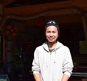 西 優樹さん / グランピング施設「SOLMU MATKA」/Yuuki Nishi/Woodworker SOLMU PUUT