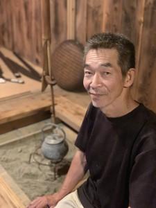 黒飛 淳さん/屋久島歴史民俗資料館