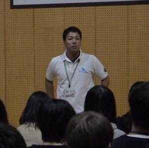 板井米法さん/屋久島おおぞら高校