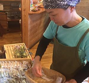 鈴木由美さん/やくしま果鈴山のおやつ工房