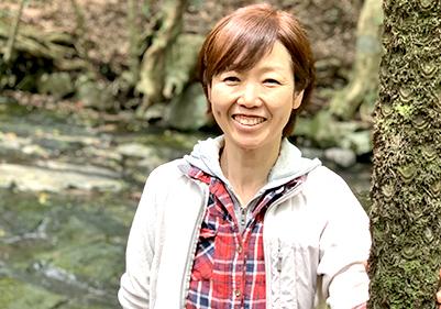辻美穂さん / 森林セラピーガイド