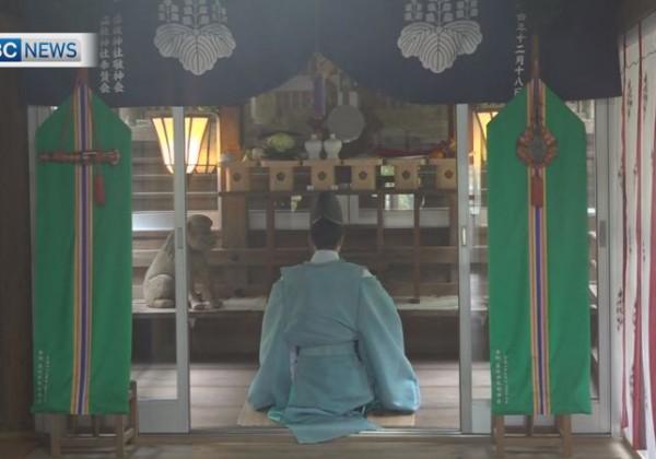 屋久島・益救神社 新型コロナ収束へ祈り