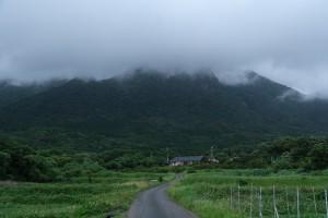 撮影:古賀 顕司「モッチョム岳の斜面をながれる湿った空気」
