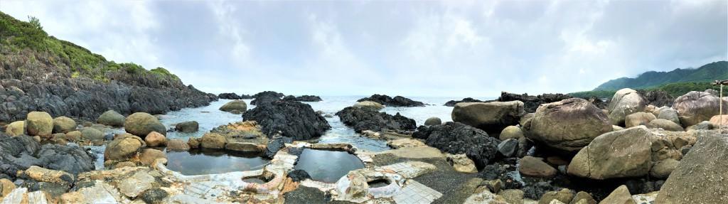 平内海中温泉の入り口
